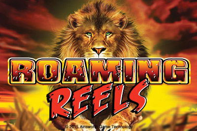 Roaming Reels Mobile Slot Logo