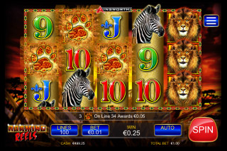 Roaming Reels Mobile Slot Reels