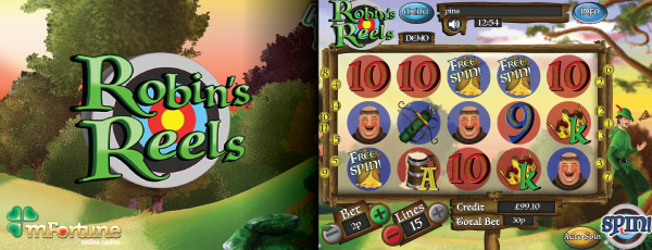 Robins Reels Mobile Slot Preview