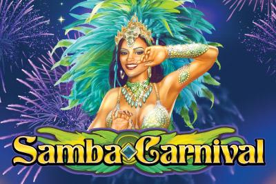 Samba Carnival Mobile Slot Logo