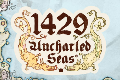 1429 Uncharted Seas Mobile Slot Logo