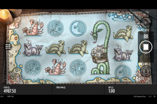 1429 Uncharted Seas Mobile Slot Reels
