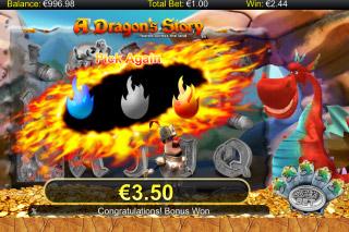A Dragon's Story Mobile Slot Bonus Game