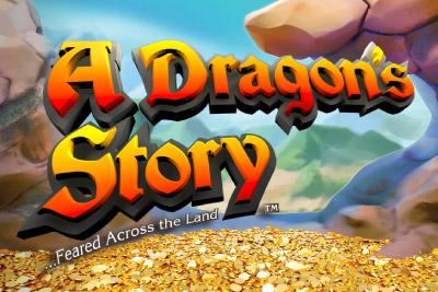 A Dragon's Story Mobile Slot Logo