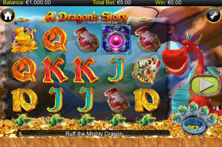 A Dragon's Story Mobile Slot Reels