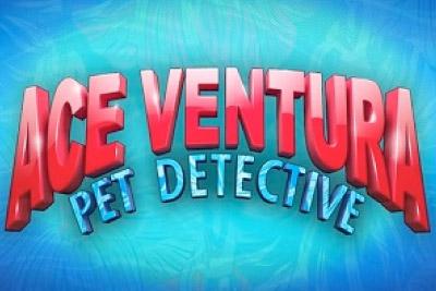 Ace Ventura Pet Detective Mobile Slot Logo