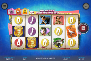 Ace Ventura Pet Detective Mobile Slot Reels