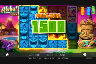 Aloha Cluster Pays Mobile Slot Mega Win