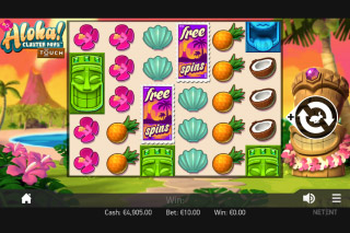 Aloha Cluster Pays Mobile Slot Reels