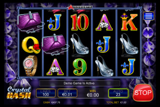 Crystal Cash Mobile Slot Symbols