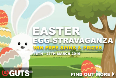 You Can Enjoy Guts Free Spins and Bonuses This Easter