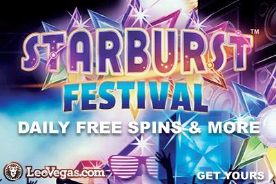 Get LeoVegas Starburst Free Spins & More