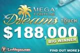 NetEnt Mega Fortune Dreams Touch Jackpot Winner