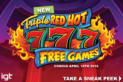 Sneak Peek At The New Triple Red Hot 777 Free Games