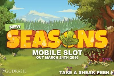 New Yggdrasil Seasons Slot Preview
