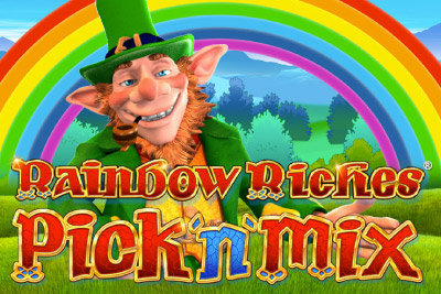 Rainbow Riches Pick n Mix Mobile Slot Logo