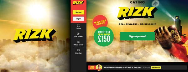 Lucky Mondays at Rizk Online Casino