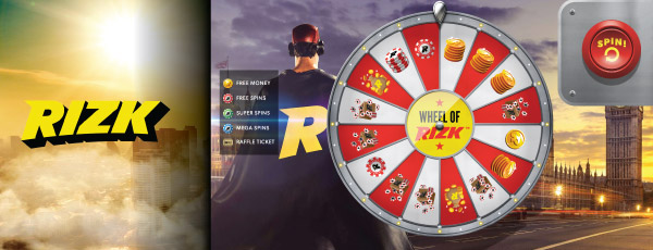 Wheel of Rizk Screenshot