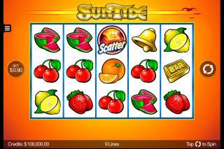 SunTide Mobile Slot Reels