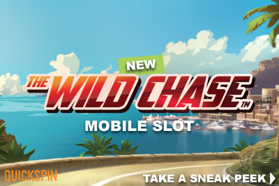The Wild Chase slot exclusive release at Casumo