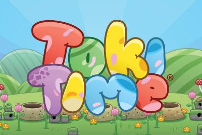 Toki Time Mobile Slot Logo