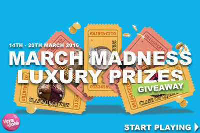Win Luxury Prizes At Vera&John Mobile Casino In March