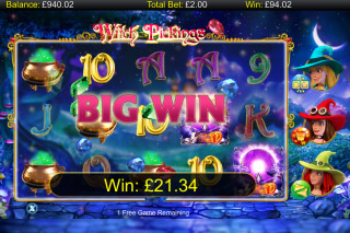 Witch Pickings Mobile Slot Bonus Game