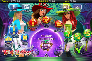 Witch Pickings Mobile Slot Bonus Pick