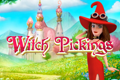 Witch Pickings Mobile Slot Logo