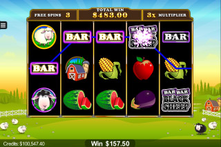 Bar Bar Black Sheep Mobile Slot Free Spins