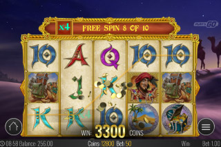Golden Caravan Mobile Slot Free Spins