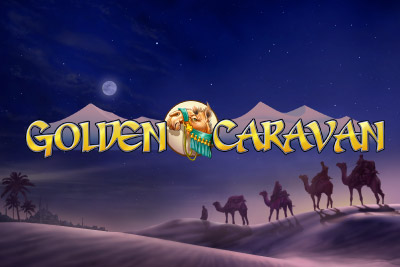 Golden Caravan Mobile Slot Logo