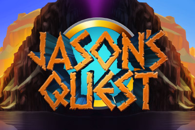 Jasons Quest Mobile Slot Logo