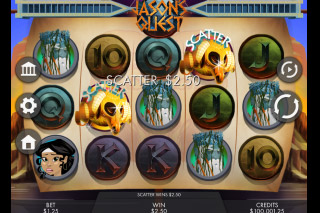 Jasons Quest Mobile Slot Reels