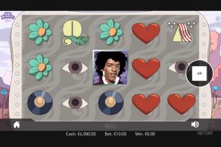 Jimi Hendrix Mobile Slot Reels