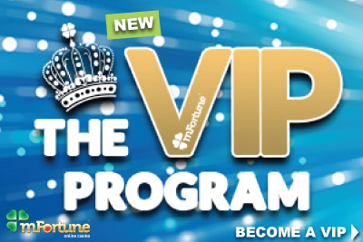 Become A mFortune Mobile Casino VIP