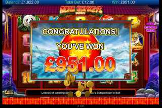 More Monkeys Mobile Slot Big Win