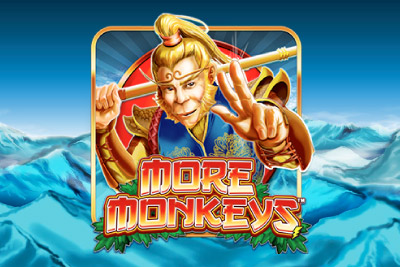 More Monkeys Mobile Slot Logo