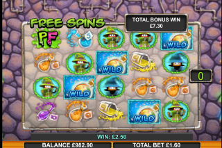 Potion Factory Mobile Slot Free Spins