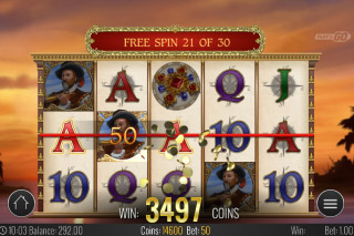 Sails of Gold Mobile Slot Free Spins
