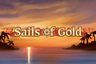 Sails of Gold Mobile Slot Logo