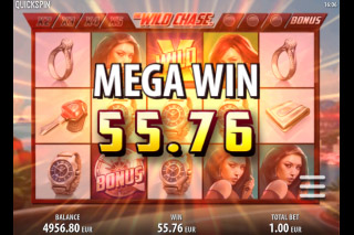The Wild Chase Mobile Slot Mega Win