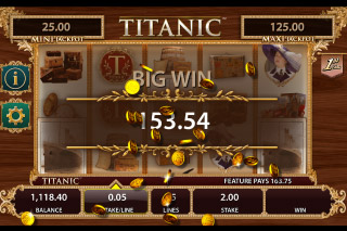 Titanic Mobile Slot Big Win