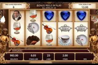 Titanic Mobile Slot Bonus Reels