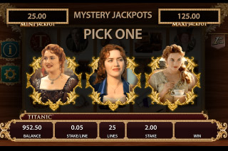 Titanic Mobile Slot Mystery Jackpot