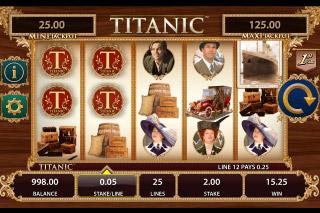 Titanic Mobile Slot Reels
