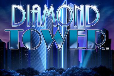 Diamond Tower Mobile Slot Logo