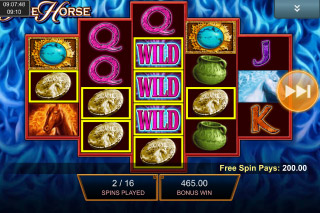 Fire Horse Mobile Slot Free Spins