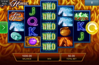 Fire Horse Mobile Slot Reels