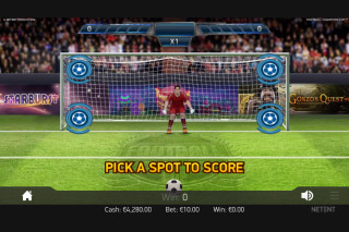 Football Champions Cup Mobile Slot Bonus Game
